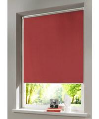 bpc living Store occultant à clipser, Fixation clipsable rouge maison - bonprix