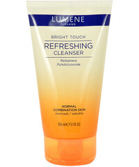 Lumene Bright Touch Refreshing Cleanser 150ml Čisticí krém W Pro normální a smíšenou pleť