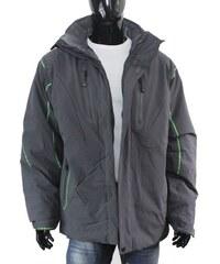 ISVER bunda pánská 336 zimní, na lyže, snowboard, nadměrná velikost