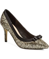 High Heels MENBUR - 006134 DD10 Black/Gold 010