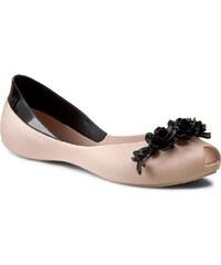 Ballerinas MELISSA - AH+Melissa Flower Queen Ad 31662 Beige/Black 51485