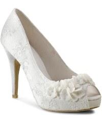 High Heels MENBUR - 005351 Ivory/Marfil 004