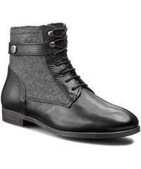 Stiefeletten TOMMY HILFIGER - Billie 14C FW56819999 Black/Dark Grey 990