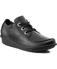 Halbschuhe CLARKS - Funny Dream 203066394 Black Leather