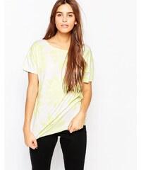 The Furies - Noh - T-shirt manches courtes à fleurs - Blanc