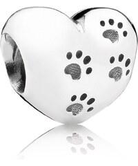 Pandora Silber Charm Pfotenabdrücke 791262