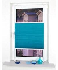 Plissee Klemmfix Plissee YOUNG COLOURS Faltenstore Lichtschutz Fixmaß ohne Bohren LIEDECO blau 1 (H/B: 150/45 cm),2 (H/B: 150/60 cm),3 (H/B: 150/75 cm),4 (H/B: 150/80 cm),5 (H/B: 150/90 cm),6 (H/B: 15
