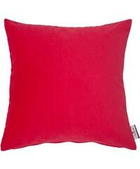 Tom Tailor Kissenhülle Velvet Linen Pad (1 Stück) rot 1 (45x45 cm),2 (30x50 cm)
