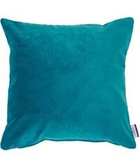 Kissenhülle Velvet Linen Pad (1 Stück) Tom Tailor blau 1 (45x45 cm),2 (30x50 cm)