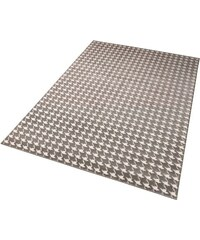 Teppich Schöngeist & Petersen Hahnentritt gewebt Hoch-Tief-Effekt SCHÖNGEIST & PETERSEN grau 2 (B/L: 80x150 cm),3 (B/L: 120x170 cm),4 (B/L: 160x230 cm),6 (B/L: 200x290 cm)