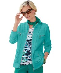 Damen Collection L. Shirtjacke COLLECTION L. blau 36,38,40,42,44,46,48,50,52,54