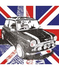 HOME AFFAIRE Deco Block Union Jack Mini 40/40 cm bunt