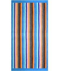 Strandtuch Leuchtstreifen leuchtende Farbe Dyckhoff blau 1xStrandtuch 80x200 cm