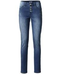 Damen Bodyform-Push-up-Jeans ASHLEY BROOKE blau 34,36,38,40,42,44,46,48,50,52