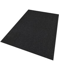 LIVING LINE Teppich Living Line Burbon Velour schwarz 1 (B/L: 60x120 cm),2 (B/L: 80x150 cm),3 (B/L: 120x170 cm),4 (B/L: 160x220 cm),5 (B/L: 200x200 cm),6 (B/L: 200x300 cm),7 (B/L: 240x360 cm),8 (B/L: