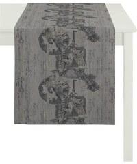 Tischläufer 7910 Klassik APELT grau 48x140 cm