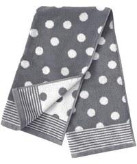 Dyckhoff Badetuch Dots mit Punkten grau 1xBadetuch 70x140 cm
