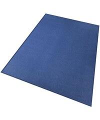 LIVING LINE Teppich Living Line Trend Velour blau 1 (B/L: 60x120 cm),2 (B/L: 80x150 cm),3 (B/L: 120x170 cm),4 (B/L: 160x220 cm),5 (B/L: 200x200 cm),6 (B/L: 200x300 cm),7 (B/L: 240x360 cm),8 (B/L: 300x