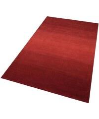 THEKO Teppich Wool Comfort handgearbeitet Wolle rot 1 (B/L: 60x90 cm),2 (B/L: 70x140 cm),3 (B/L: 140x200 cm),4 (B/L: 160x230 cm),49 (B/L: 90x160 cm),5 (B/L: 190x290 cm)