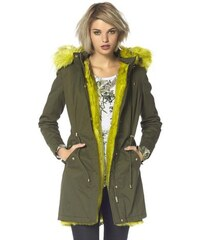 Laura Scott Damen Parka grün 34,36,38,40,42