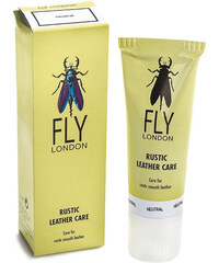 Pasta na obuv FLY LONDON - Rustic Leather Care Transparent