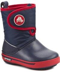 Sněhule CROCS - Crocband II.5 Gust Boot Kids 12905 Navy/Red