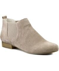 Kotníková obuv s elastickým prvkem CAPRICE - 9-25300-24 Stone Suede 260