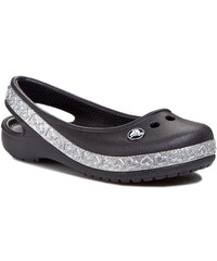 Sandály CROCS - Genna II Hearts Flat Gs 14481 Black/Silver