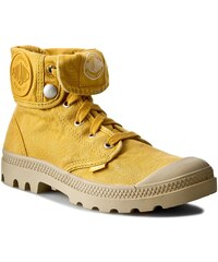 Turistická obuv PALLADIUM - Baggy 92353705 Old Gold/Putty