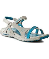 Sandály MERRELL - Lissum Lattice J196393C Silver/Blue