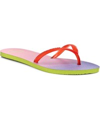 Žabky HAVAIANAS - Fl Sunset Cf 41304256510 Lime Green/Strawberry
