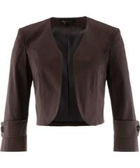 bpc selection Bolero-Jacke 3/4-Arm in braun für Damen von bonprix