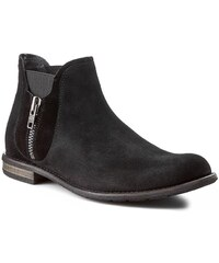 Kotníková obuv s elastickým prvkem GINO ROSSI - Aldo MBV257-D24-R500-9900-F 99