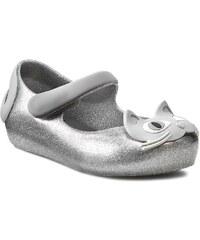 Baleríny MELISSA - MINI - Melissa Ultragirl II Sp 30901 Silver/Glitter 52533