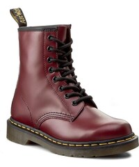 Glády DR. MARTENS - 1460 10072600 Cherry Red Smooth