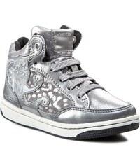 Sneakersy GEOX - J Cremy A J54L5A 0DHKN C1007 Stříbrná