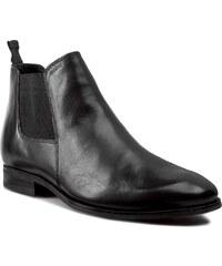 Kotníková obuv s elastickým prvkem GEOX - U Albert 2Fit I U44W3I 00043 C9999 Černá