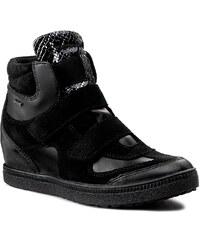 Sneakersy GEOX - D Amaranth H. B D52S9B 022BC C9999 Černá