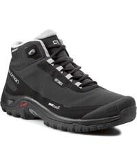 Trekkingová obuv SALOMON - Shelter Cs Wp 372811 Black/Pewter