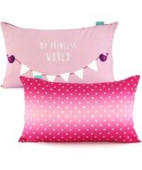 Little W Povlak na polštář Princess, 50x30 cm