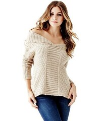 Guess Svetr Reversible Knit Sweater