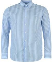 Košile pánská Pierre Cardin s dlouhými rukávy Blue/Wht Stripe
