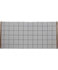 Bloomingville Bavlněný kobereček Cool Grey Checks