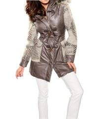 Heine Dámská bunda zimní s vlněnými rukávy