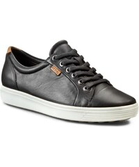 Polobotky ECCO - Soft 7 Ladies 43000301001 Black