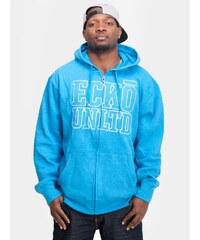 Ecko Branded Hoodie Pull Blue