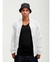 Urban Classics Neopren Zip Jacket White TB1122