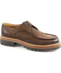 Chaussures Car Shoe pour homme en chevreau Graphite
