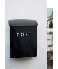 IB LAURSEN Poštovní schránka Post black