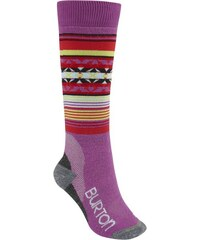 Ponožky Burton Womens trillium sock grapeseed M/L